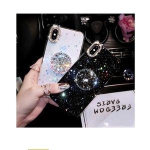 *Popsocket Only Accessories - Pop Socket/Phone Holder Faux 3D Diamond 💎